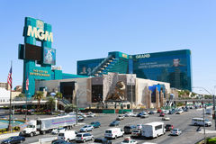 MGM Grand hotel and casino Stock Photo