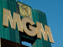MGM Grand Hotel Stock Photography