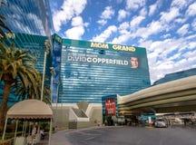 Mgm Grand hotell och kasino - Las Vegas, Nevada, USA arkivbild
