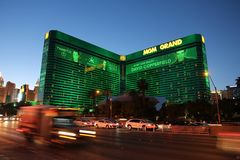 Mgm Grand, Las Vegas photos libres de droits