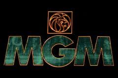 Mgm Grand Las Vegas Arkivbilder