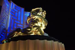 MGM-Grand, Las Vegas Stock Foto's