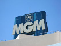 MGM Grand Las Vegas. Is the second largest hotel in the world by number of rooms and the largest hotel resort complex in the United States Royalty Free Stock Photos