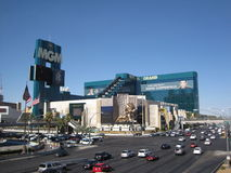 MGM Grand Las Vegas. Is the second largest hotel in the world by number of rooms and the largest hotel resort complex in the United States Royalty Free Stock Image