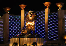 MGM Grand Lion Royalty Free Stock Image
