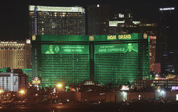 An MGM Grand View from McCarran International Airport Stock Photography