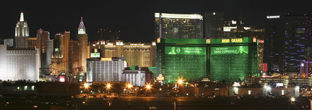 An MGM Grand View from McCarran International Airport Stock Photo