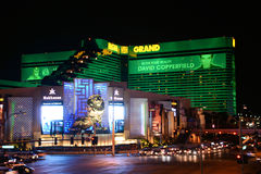 MGM Hotel Las Vegas stock photography