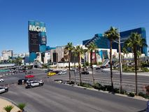 MGM-kasino Las Vegas Arkivfoton