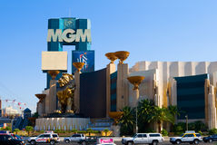 MGM Kasino in Las Vegas Stockbild