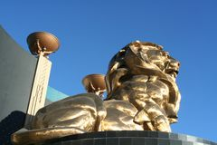 MGM - Las Vegas Stockbild