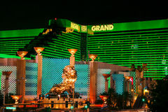 MGM Las Vegas imagem de stock royalty free