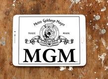 Mgm, logo de studios de Goldwyn Mayer de métro Photographie stock