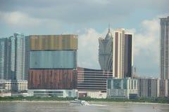 MGM Macao e grande Lisbona Fotografia Stock Libera da Diritti