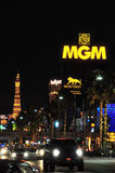 MGM, Paryż i pasek, Fotografia Stock