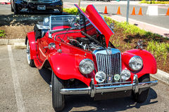 1954 MGTT. A 1954 restored and customized MGTT  at a August, 2014 classic car show in Washington, State Stock Photos
