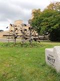MH17纪念品,在希尔弗萨姆,荷兰,欧洲 库存图片