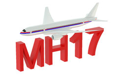 MH17 crash concept Stock Photos