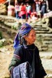 Mhong rasa na północnym veitnam obraz stock