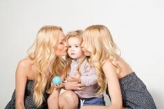 Miłość, szczęście, wychowywa zdjęcie stock