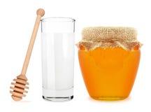 miód mleka Obraz Stock
