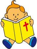 Miúdo da Bíblia Imagens de Stock
