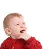Miúdo de grito Imagem de Stock