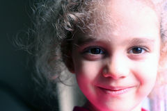 Miúdo de sorriso Fotos de Stock
