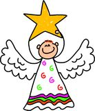 Miúdo do anjo Imagem de Stock