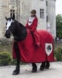 Miúdo medieval Imagens de Stock Royalty Free