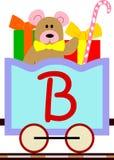 Miúdos & série do trem - B ilustração stock