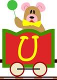 Miúdos & série do trem - U Imagem de Stock