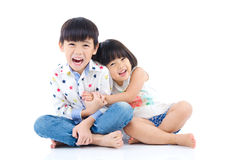 Miúdos asiáticos Imagens de Stock Royalty Free