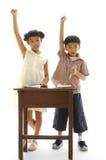 Miúdos asiáticos Imagem de Stock Royalty Free