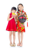 Miúdos asiáticos Fotografia de Stock