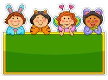 Miúdos brincalhão Fotografia de Stock