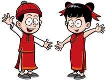 Miúdos chineses Imagens de Stock Royalty Free