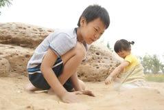 Miúdos chineses Fotografia de Stock Royalty Free