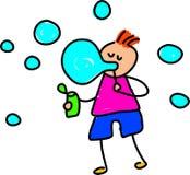 Miúdos da bolha ilustração do vetor