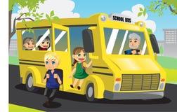 Miúdos da escola ilustração stock
