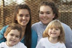 Miúdos da família Fotografia de Stock Royalty Free