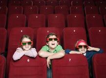 Miúdos de riso Fotos de Stock Royalty Free