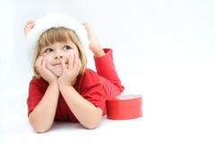 Miúdos do Natal Fotografia de Stock Royalty Free