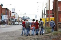 Miúdos do skater Fotografia de Stock