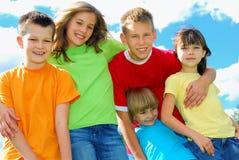 Miúdos do verão Fotografia de Stock Royalty Free