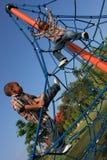 Miúdos em cordas Fotos de Stock