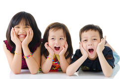 Miúdos encantadores Foto de Stock Royalty Free