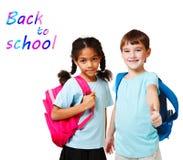 Miúdos envelhecidos escola Imagens de Stock