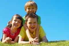 Miúdos felizes Foto de Stock