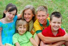 Miúdos felizes Imagem de Stock